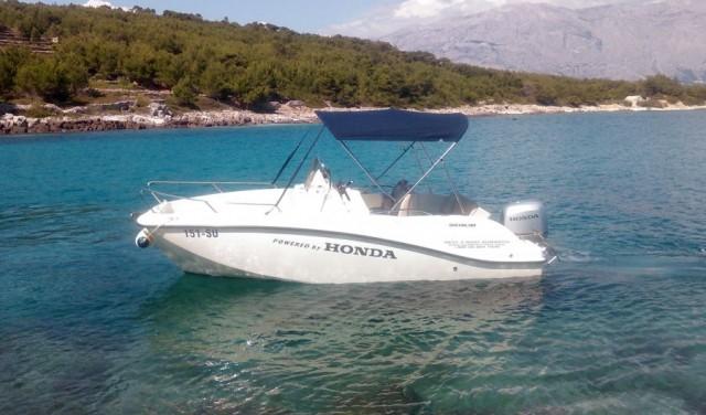 Rent a boat Quicksilver 555 Activ open  - Sumartin (Brac)