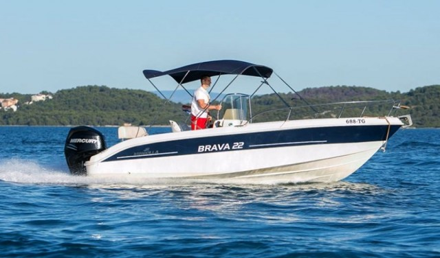 Rent a boat Mingola Brava 22 - Trogir / Split