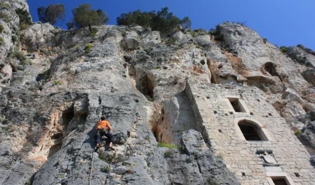 Rock Climbing - Split