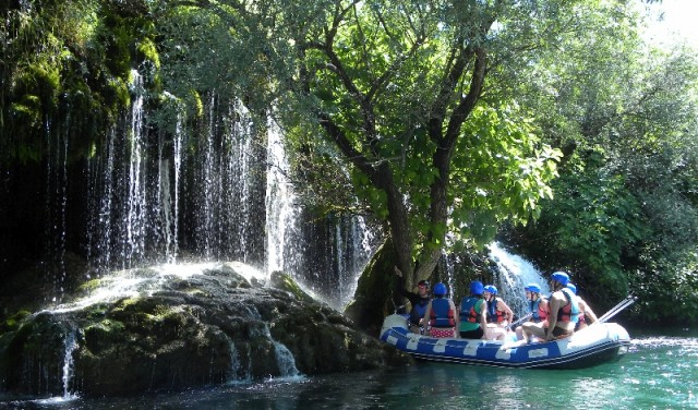 Rafting - Blato auf Cetina