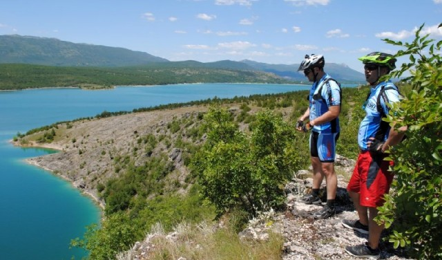 Sinj - tour à vélo source de la rivière Cetina