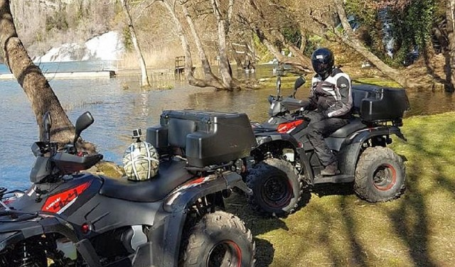 Krka waterfalls - quad adventure