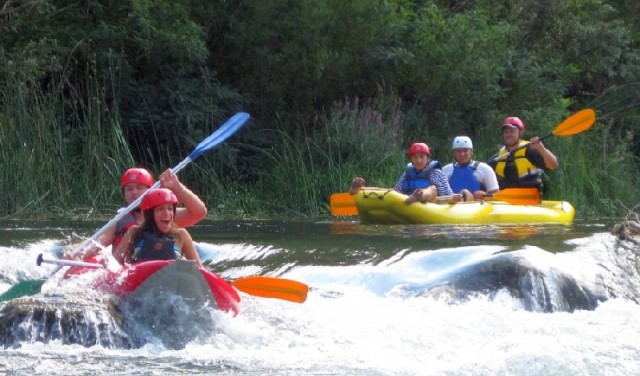 Rafting - Canoe safari - Srijane