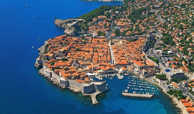 Panoramic flight Dubrovnik - Game of thrones