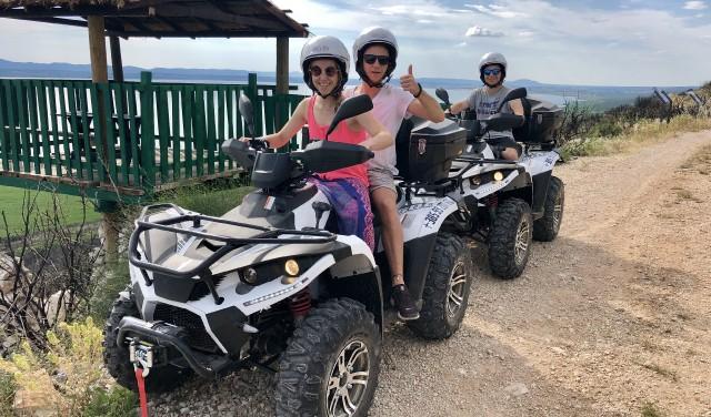 ATV QUAD SAFARI - VRANA LAKE