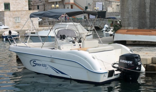 Rent a boat SAVER 650 Open - Split/Trogir