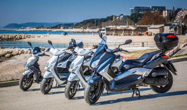 Louer un scooter - Split