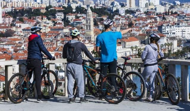 Marjan bike tour - Split