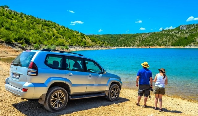 Jeep safari Dalmatian hinterland