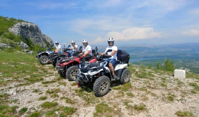Quad Mountain Adventure (Svilaja) von Split