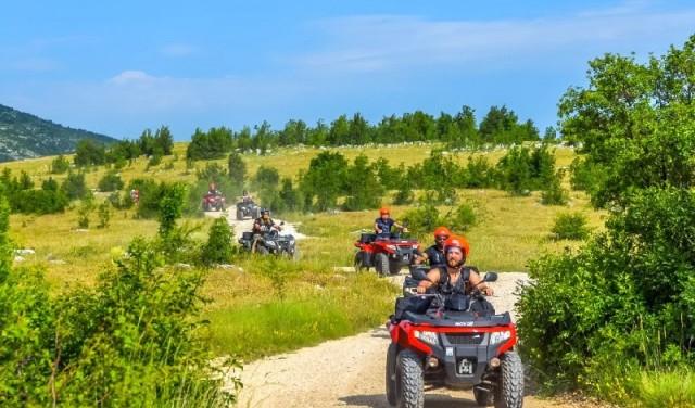 Quad safari Dalmatian mountain tour