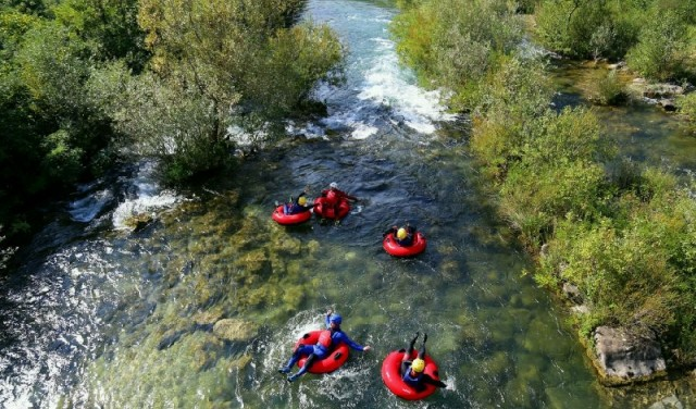 RIVER TUBING ON CETINA RIVER