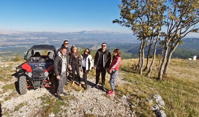Buggy fun mountain tour near Split