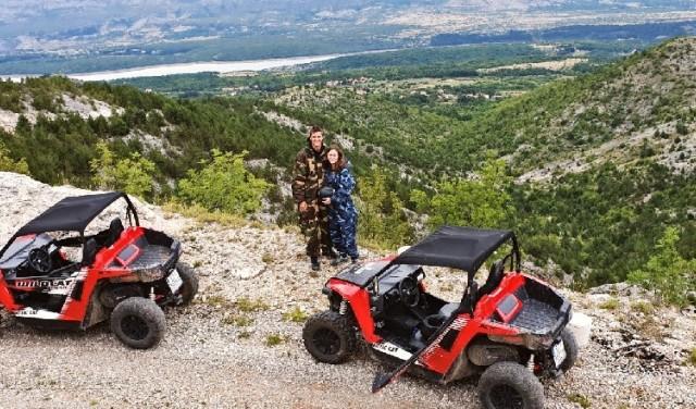 River Cetina extreme buggy tour near Split