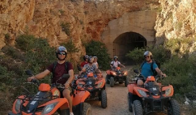 Quad safari island Vis- Military tour