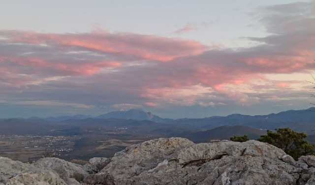 Panorama Sinj - hiking tour near Split