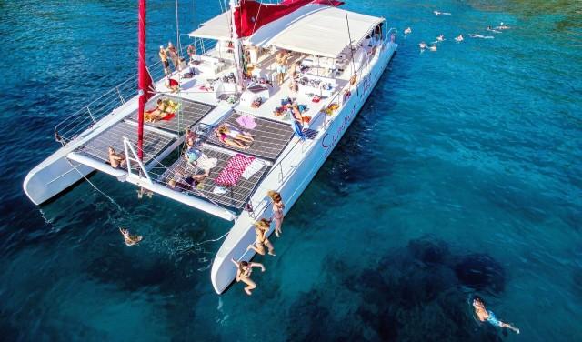 Hvar, Pakleni islands and Brac - catamaran tour from Split